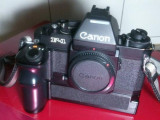 Canon New F-1 + AE Power Winder