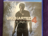 PS4 UNCHARTED 4 密境探險4
