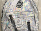 新品 HYPE SILVER HOLOGRAPHIC BACKPACK 雷射包 銀
