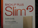 希捷 Backup Plus Slim  1TB 金色